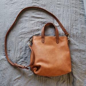 Antik Kraft Leather Square Crossbody Bag Purse